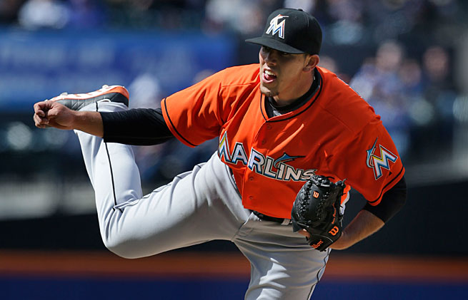 Jose Fernandez didn't disappoint in his first big league game, with eight strikeouts in just five innings.