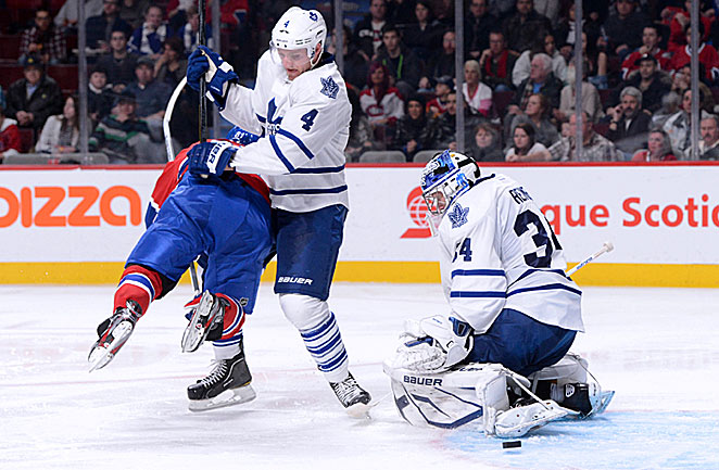 Goalie James Reimer and the Leafs could have a rare playoff date with their arch-rivals from Montreal.