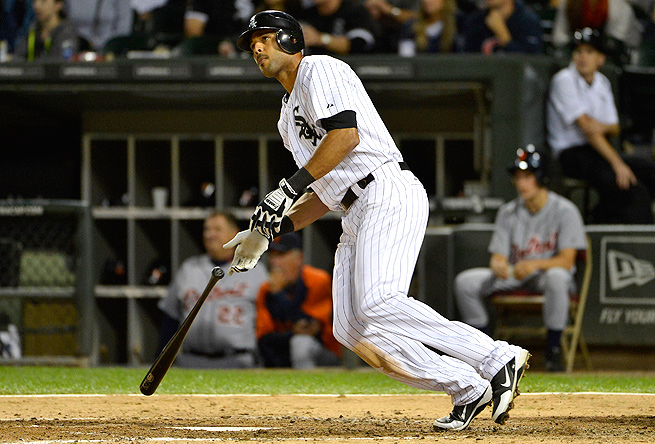 Alex Rios' low BABIP during 2011 hinted that he would rebound from that lackluster season.