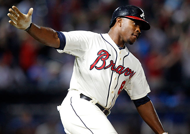 With Justin Upton leading the way, the Braves are off to a flying start in the National League East.