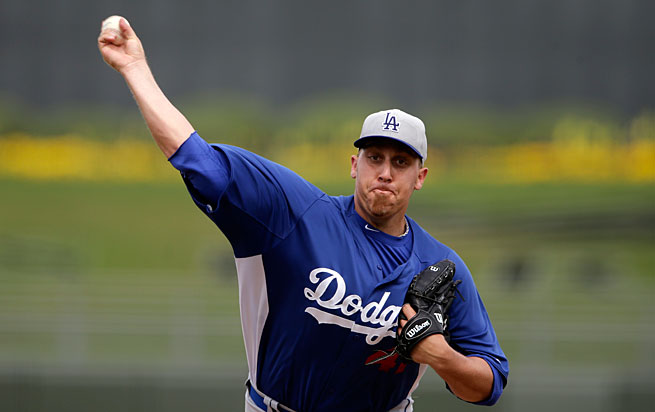 The Dodgers had traded Aaron Harang to the Rockies just last week.