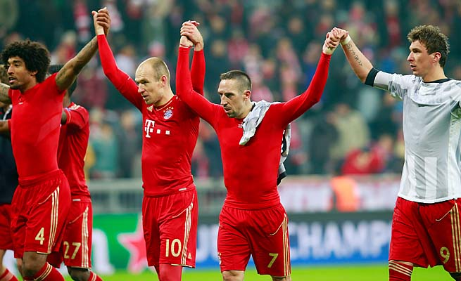 Bayern Munich will learn its Champions League semifinal opponent on Friday.