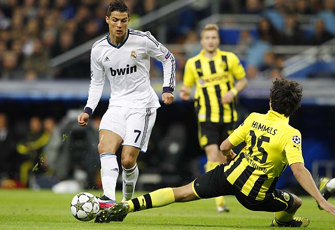 Cristiano Ronaldo and Real Madrid couldn't beat Borussia Dortmund in their group matches.