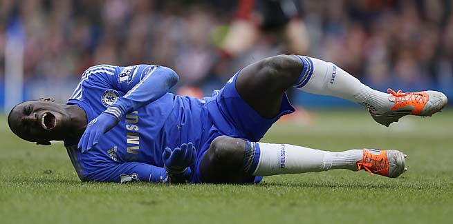 Demba Ba suffered an ankle injury against Sunderland last weekend.