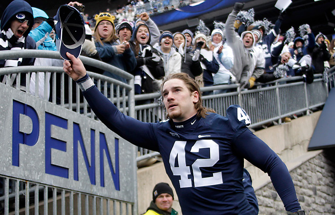 Despite missing a game, Michael Mauti was first team All-Big Ten and first team All-American in 2012.