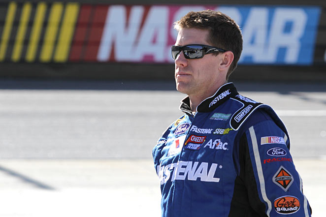 His focus restored after his disappointing 2012, Carl Edwards is off to a strong start on the Cup circuit.