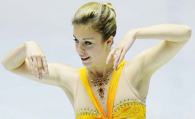 Ashley Wagner is a medal contender for the Sochi Olympics. The U.S. women didn't medal in Vancouver.