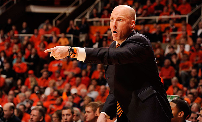 John Groce went 8-10 in the Big Ten in his first year at Illinois, including a run in the NCAA Tournament.