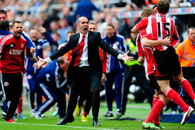 Di Canio was brought in by Sunderland two weeks ago, after the team fired manager Martin O'Neill