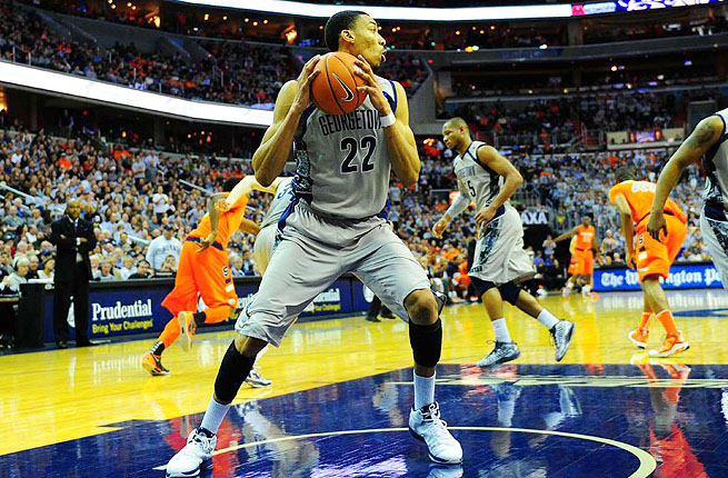 Otto Porter was Big East Player of the Year but his season ended with an upset to No. 15 Florida Gulf Coast.
