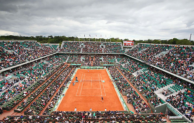 The 2013 French Open will take place May 26-June 9.