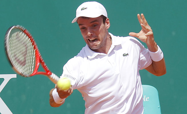 Roberto Bautista Agut of Spain is ranked No. 59 in the world.