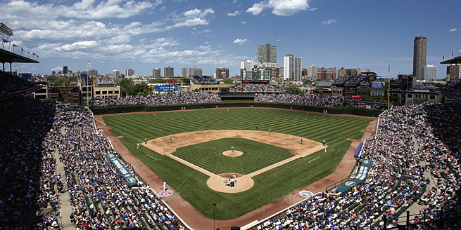 Wrigley Field is hosting its 100th season of professional baseball this year.