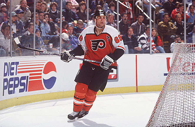 During the last lockout-shortened season, the Hart Trophy went to the dominant Eric Lindros.