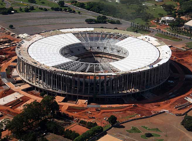 The Mane Garrincha is slated to host a Confederations Cup game between Brazil and Japan in June.