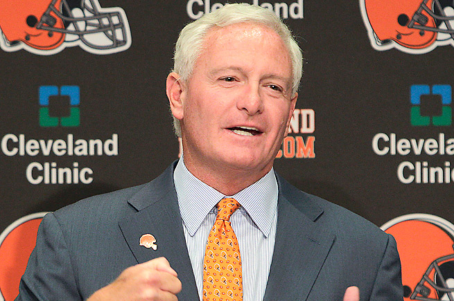 Jimmy Haslam took over as owner of the Browns in October 2012.