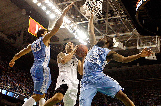 James Michael McAdoo (43) and Reggie Bullock announced their draft decisions Tuesday.