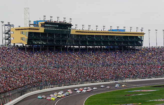 Kansas Speedway has increased security for this weekend's races after the Boston Marathon explosions.