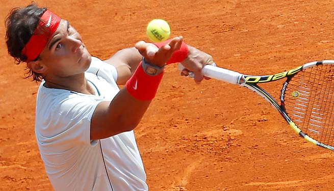 Rafael Nadal will next face German Philipp Kohlschreiber at the Monte Carlo Masters.