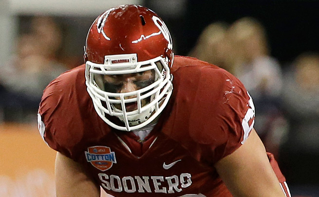 With Eric Fisher and Luke Joeckel expected to go high, Lane Johnson could be valuable trade bait.