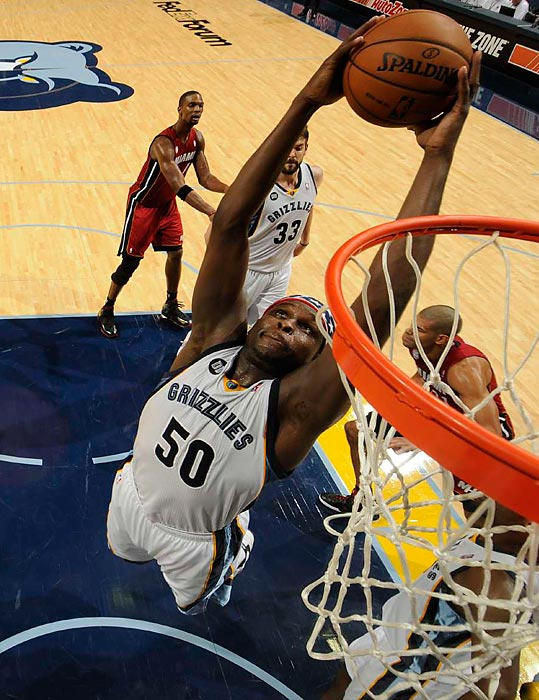 Marc Gasol has developed into a top center (Pau's brother is one to watch, too, for his work at both ends), Mike Conley is a steady presence at the point and the Grizzlies defend as well as anyone. But for the Grizzlies to score enough to win in the playoffs, Randolph has to be effective in the post and more efficient with his shooting than he was in the second half of the season.