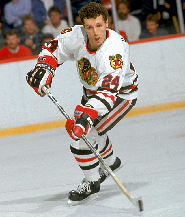 The San Jose Sharks' current general manager was a smooth-skating ace defenseman in his day, amassing 827 points in 1,024 games and earning a Norris Trophy in 1982, after a 39-goal season, plus two subsequent second-team All-Star selections during his days with the Blackhawks. He then became the Sharks' first captain during their inaugural season in 1991-92. Though he was the best player in the family, he never won a Stanley Cup, leaving him four short of his older brother, Murray, who played seven seasons for Montreal. -- <italics>Brian Cazeneuve</italics>