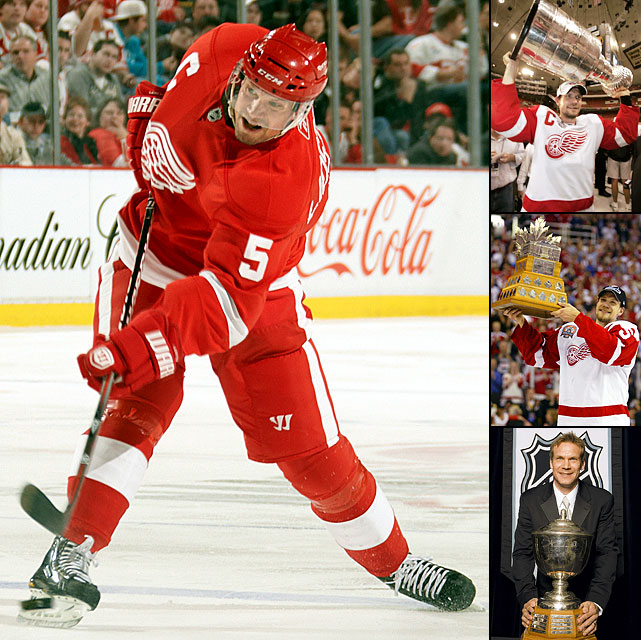 The 20-year Red Wing -- his teams reached the playoffs each season of his career -- was called the perfect hockey player, a testament to his offensive wizardry, defensive subtlety, overall acumen and gentlemanly play. More than anything, Lidstrom, a four-time Stanley Cup winner with 1,142 career points and seven Norris Trophies, was perhaps the least likely superstar to make a gratuitous error or costly play. He would go weeks without a goof that looked like a real mistake and while not as physical or as fast as other defensemen, he could get himself into a proper position as if directed by a handle in a table-hockey set. -- <italics>Brian Cazeneuve</italics>