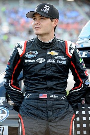 Kyle Larson's had a hard time avoiding wrecks since his crash at Daytona injured over two dozen fans.