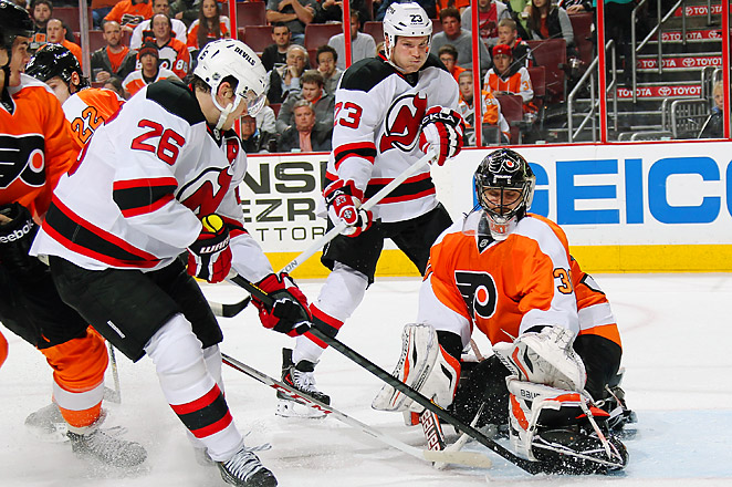 The Devils keep their very slim playoff hopes alive, as they now sit in 11th place with 42 points.