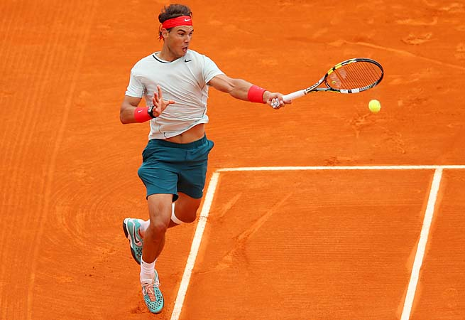 Rafael Nadal came into Monte Carlo 17-1 with three title on the season.