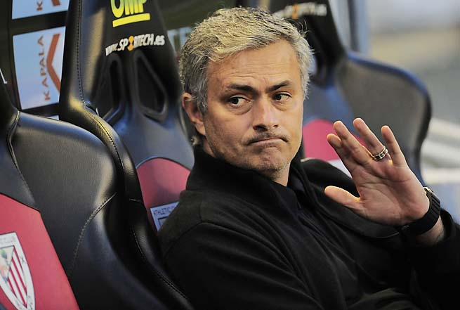 Jose Mourinho and Real Madrid play Dortmund in their first leg on Wednesday.