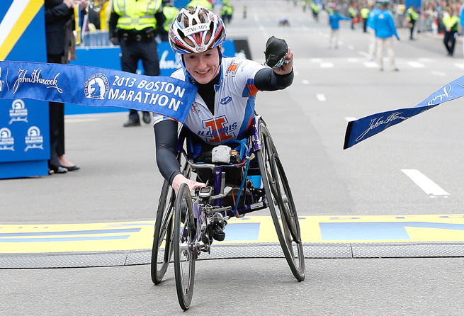 Tatyana McFadden hopes to help those disabled by the bombings at the Boston Marathon.