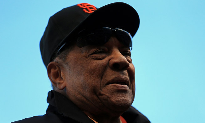 Willie Mays and his wife, Mae, had been married for 41 years after meeting in New York City.