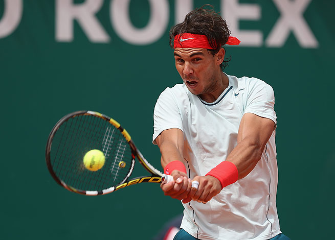 Rafael Nadal has not dropped a match at the Monte Carlo Masters since 2003.