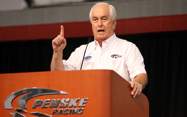 Roger Penske's team was heavily suspended and fined by NASCAR this week.