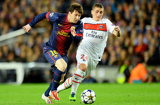 Lionel Messi has missed three games with a leg injury, but did play April 10 as a substitute against Paris St Germain.