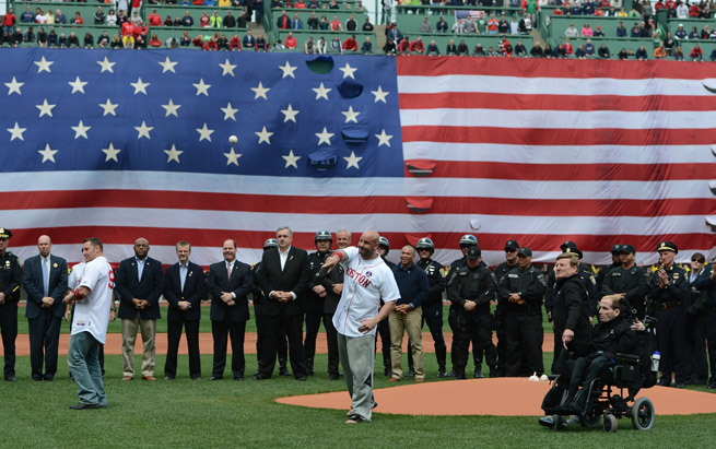 The Boston Red Sox and the Red Sox Foundation are donating $146,500 for a Boston Marathon fund.
