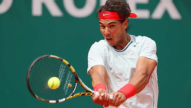 Rafael Nadal is seeded second at the Barcelona Open behind countryman David Ferrer.