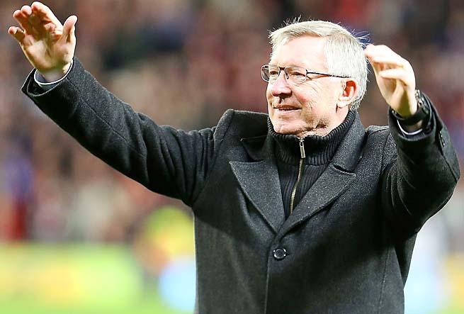 Sir Alex Ferguson and Manchester United are not the favorites to win the title next year, according to William Hill.