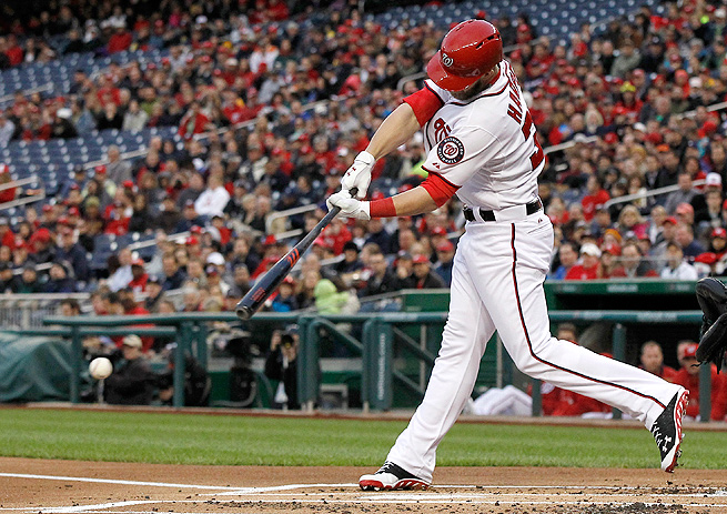 Fantasy experts are sure that Bryce Harper will consistently hit 40 homers a season for years to come.