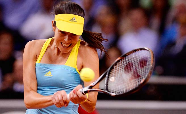 Ana Ivanovic hasn't made it past the round of 16 in a tournament this season.