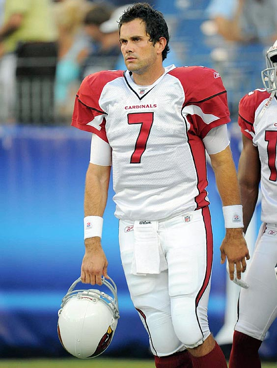 His Heisman trophy and national championship ring might as well have been glorified paperweights when Leinart stepped up to the next level. He threw more interceptions than TD passes his first season with the Cardinals then proceeded to languish on the bench before being cut in 2010.