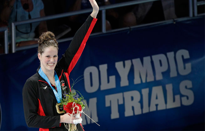 Omaha, Neb., hopes to be selected as the site of the U.S. Olympic swim trials for the third time in a row in 2016.