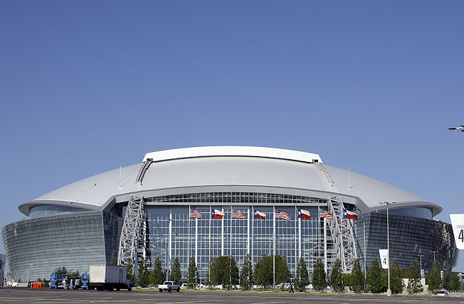 Hundreds of fans were displaced during the 2011 Super Bowl after temporary seating was deemed unsafe.
