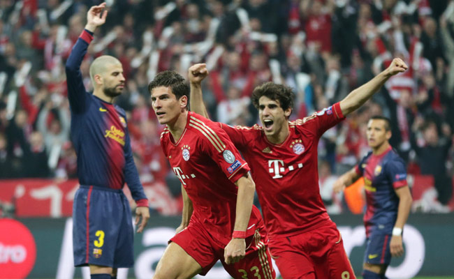 Bayern Munich is close to making the Champions League final for the third time in the past four years.