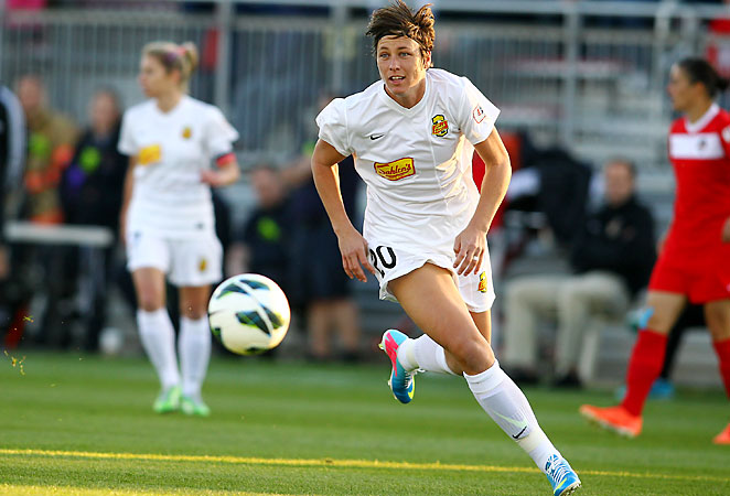Abby Wambach, who grew up in Rochester, will miss the home opener for the Rochester-based Western New York Flash.