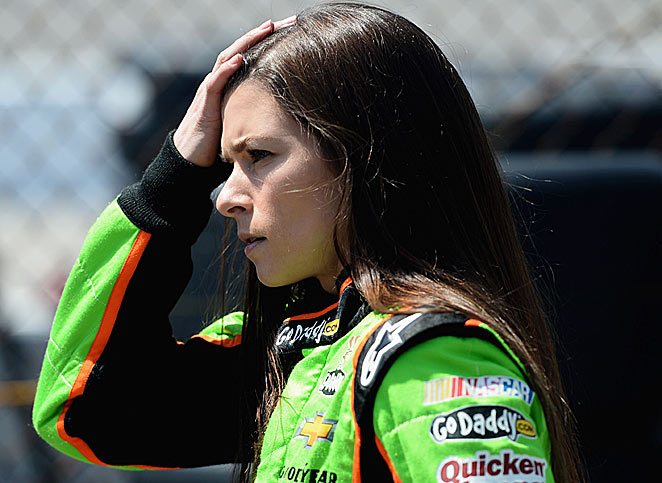 Danica Patrick has had a beef with David Gilliland for almost a year and it's coming to a head.