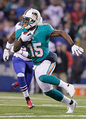 Davone Bess caught at least 50 passes in each of his five seasons with the Dolphins, who traded him to the Browns.