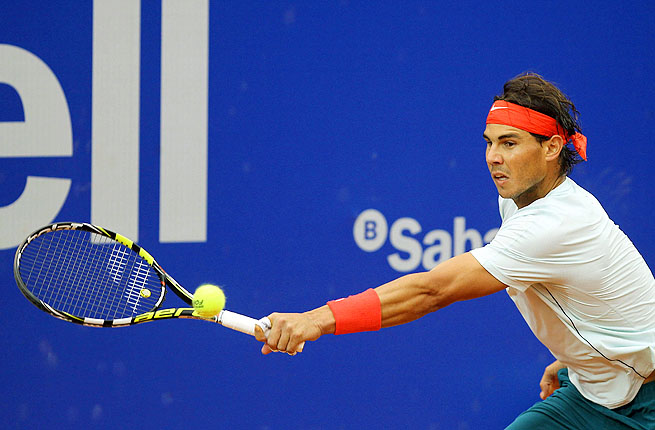 Rafael Nadal has won 38 straight matches on the Real Club de Tenis's outdoor red clay.