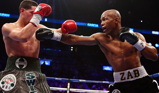 In a unanimous decision at the Barclays Center in Brooklyn, Danny Garcia outpointed Zab Judah.